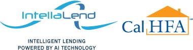 Logos: IntellaLend - Intelligent Lending Powered by AI Technology; California Housing Finance Agency