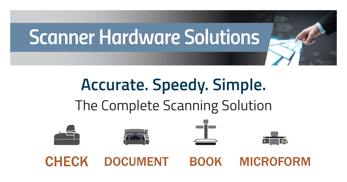 Brochure: Scanner Hardware Solutions | MTS Software Solutions