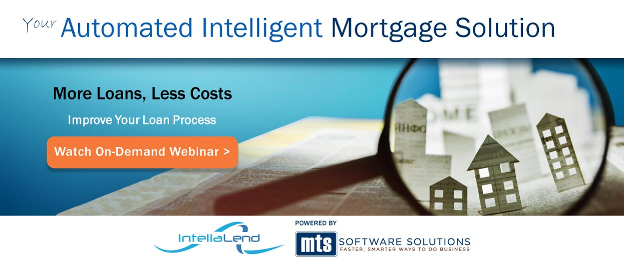 Pop-under banner for Video: Webinar - IntellaLend, More Loans, Less Costs