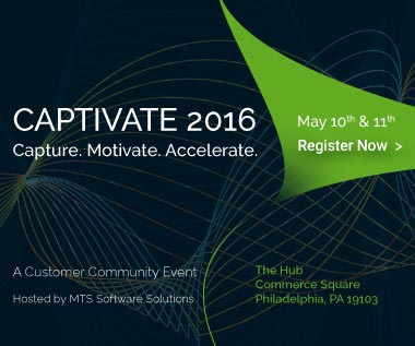 MTS Captivate 2016, May 10 and 11