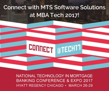 Banner rectangle for MBA's National Technology in Mortgage Banking Conference & Expo 2017