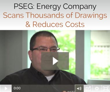 Banner for Document Scanning Case Study - PSEG: Energy Company Scans Thousands of Drawings & Reduces Costs