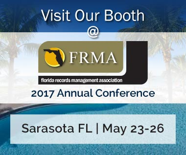 Banner rectangle for Event: Florida Records Management Association (FRMA) 2017 Annual Conference