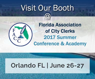 Rectangle Banner for Event: Florida Association of City Clerks (FACC) 2017 Summer Conference and Academy