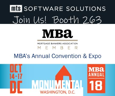 2018-10-14 Mortgage Bankers Association Annual Convention