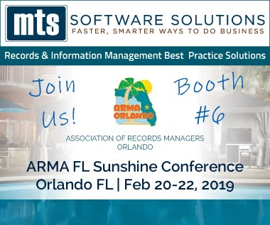 Banner rectangle for Event: ARMA Orlando Florida Sunshine Conference Feb 20-22, 2019
