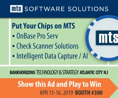 Banner rectangle for Event: BankHorizons Technology & Strategy Conference Apr 15-16, 2019 Atlantic City NJ