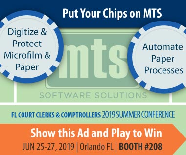 Banner Rectangle for Event: Play to Win @ Florida Court Clerks Comptrollers 2019 Summer Conference June 25-27 Orlando FL