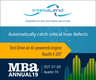 Banner rectangle for Event: Test Drive an AI-powered engine at 2019 MBA's Annual Convention & Expo Oct 27-30 Austin TX