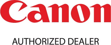 Logo for Canon Authorized Dealer