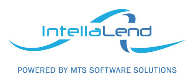 Logo: IntellaLend powered by MTS Software Solutions