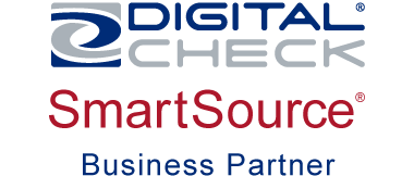 Logo for Digital Check SmartSource Business Partner
