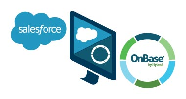 Logo for Salesforce Integration with OnBase