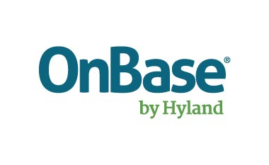 Logo for OnBase by Hyland