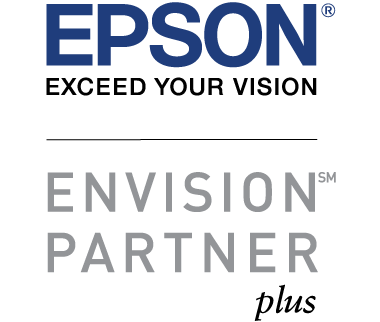 Logo for Epson Exceed Your Vision - Envision Partner Plus