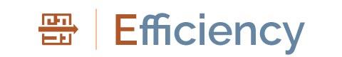 Logo for Customer SERVICE Promise: Efficiency