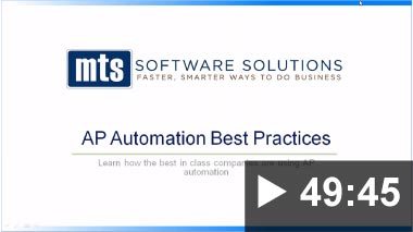 Thumbnail image of Video: Webinar - AP Automation Best Practices 2018-10-18