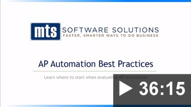 Thumbnail image for Video: Webinar - AP Automation 101 - 2019-02-28