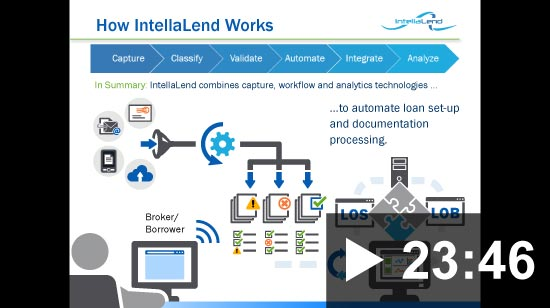 Thumbnail for video: Webinar: Mortgage Processing Automation Productivity = Profits 04-09-2015